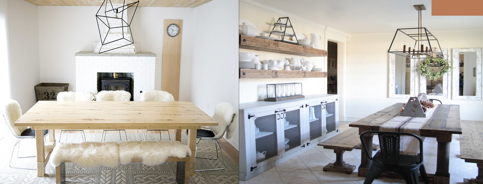 The Good, the Bad and Diy Dinning Room