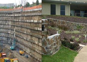 The Awful Side of Grout Retaining Wall