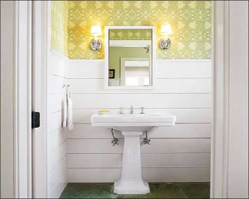 The Insider Secret on Wall Covering Ideas For Small Bathroom Uncovered